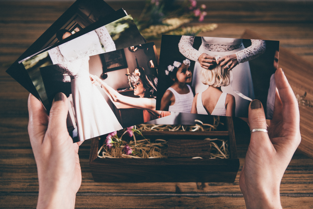 Tarifs photographe mariage Seine et Marne packaging