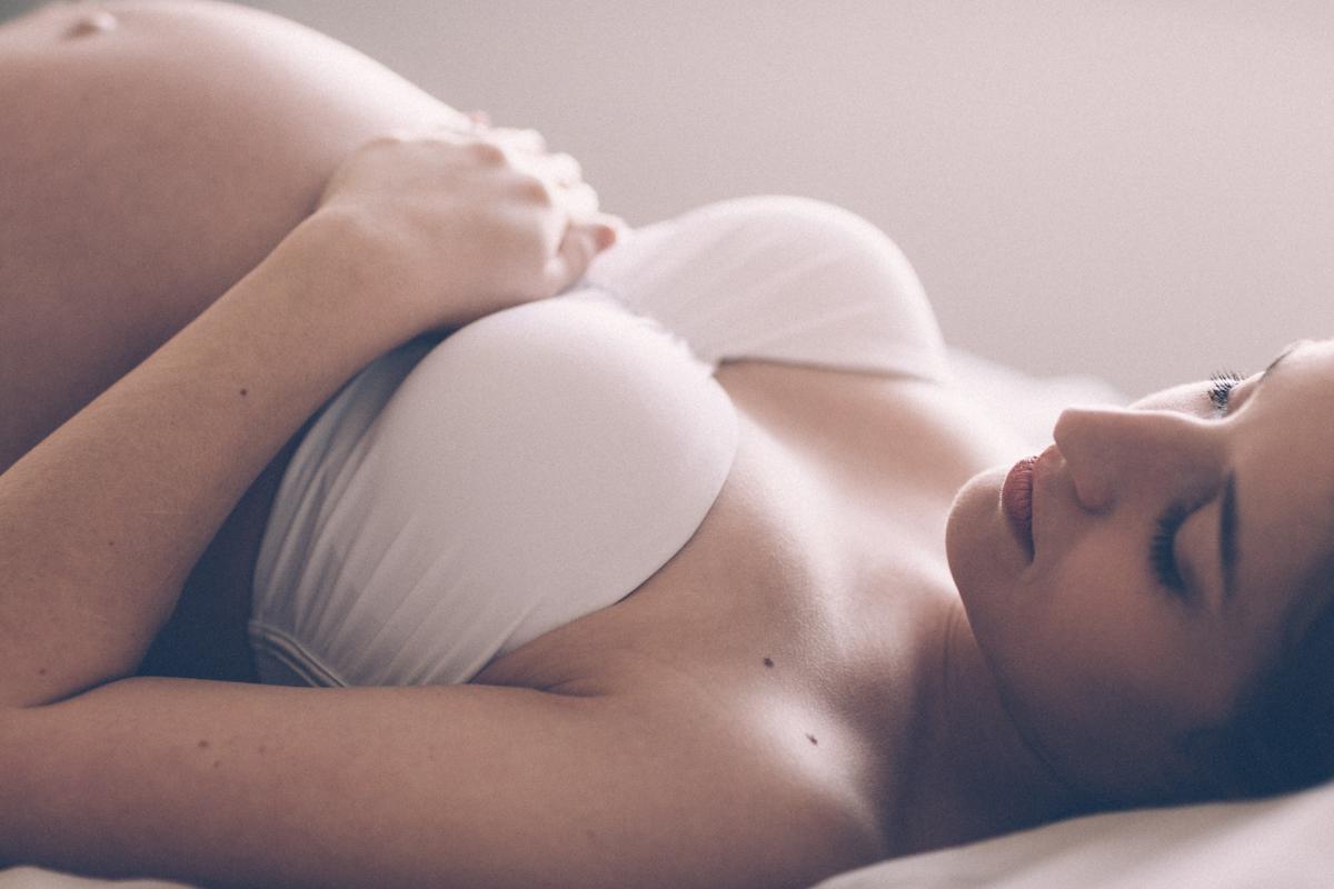 photo lors d'une séance grossesse