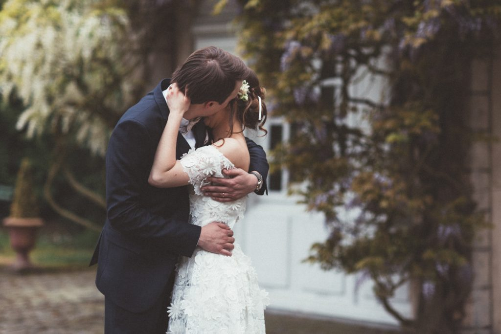 mariés au chateau du vert bois