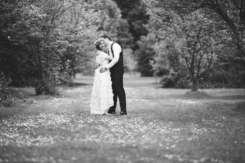 mariage jardin chateau du vert bois