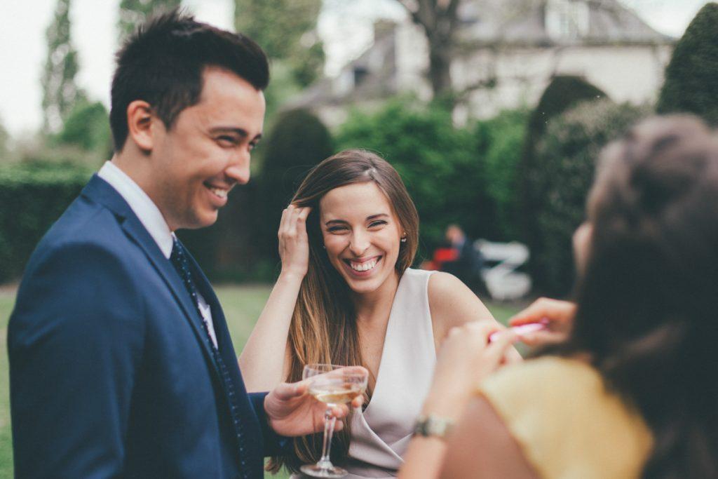 vin d'honneur mariage au chateau du vert bois