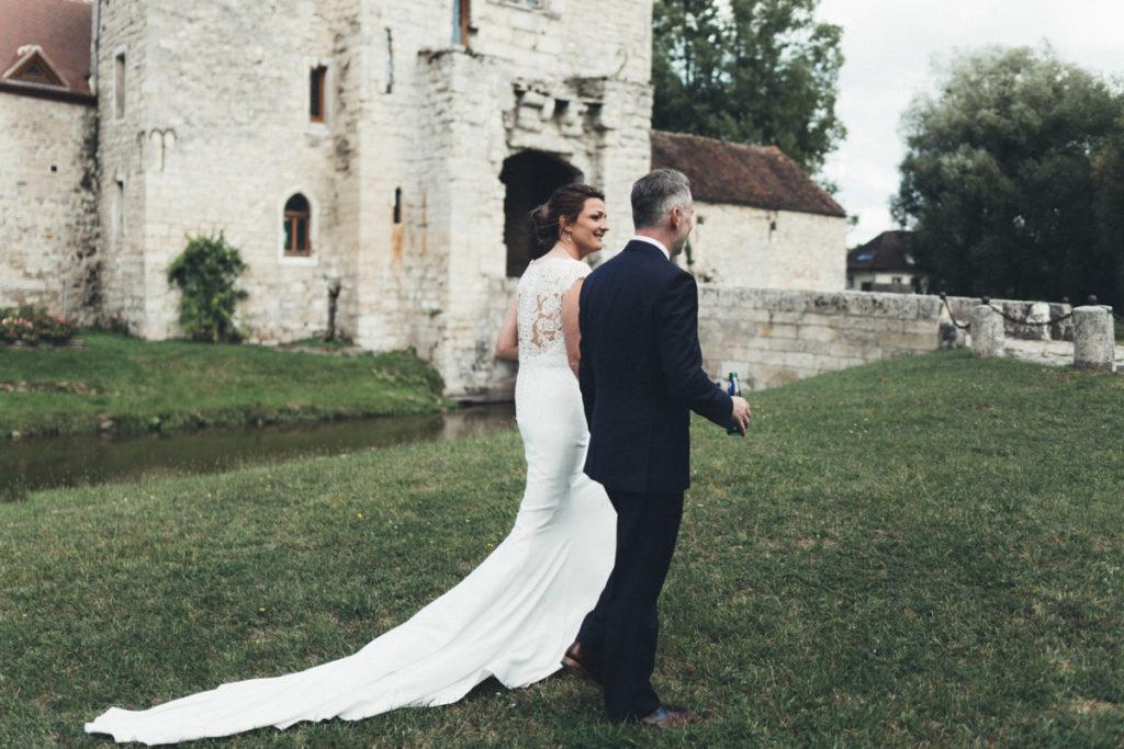 Château de Pontarmé mariés photos