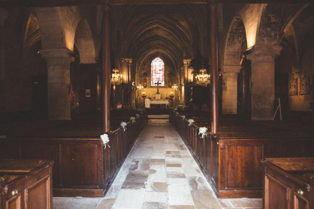 Eglise Saint Martin de Plailly intérieur