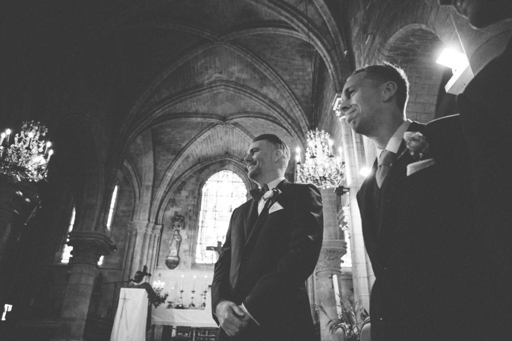 Eglise Saint Martin de Plailly marié et témoin mariage