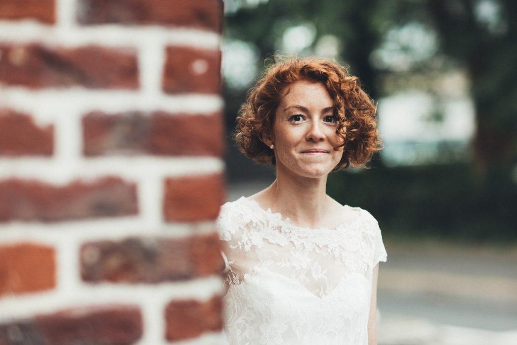 la mariée devant la mairie de lambersart