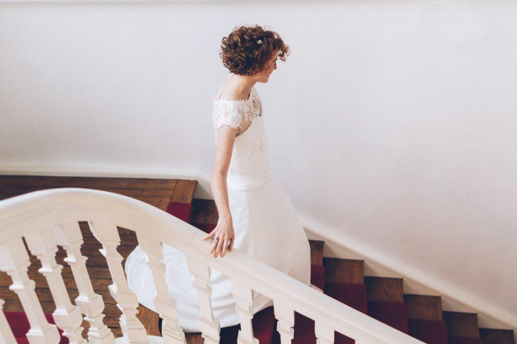 mariage de céline au château de prémesques