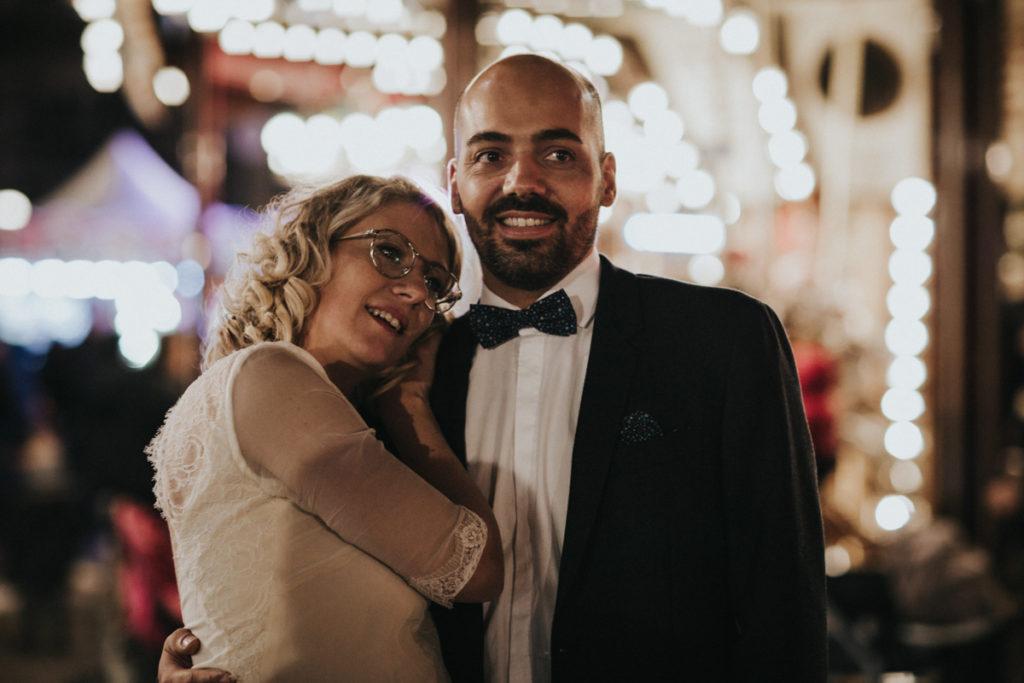 photos de mariage à paris en hiver