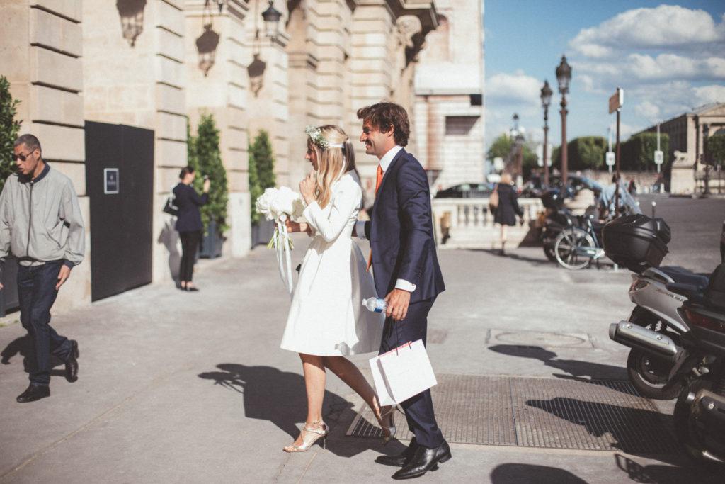 arrivée mariage concorde paris