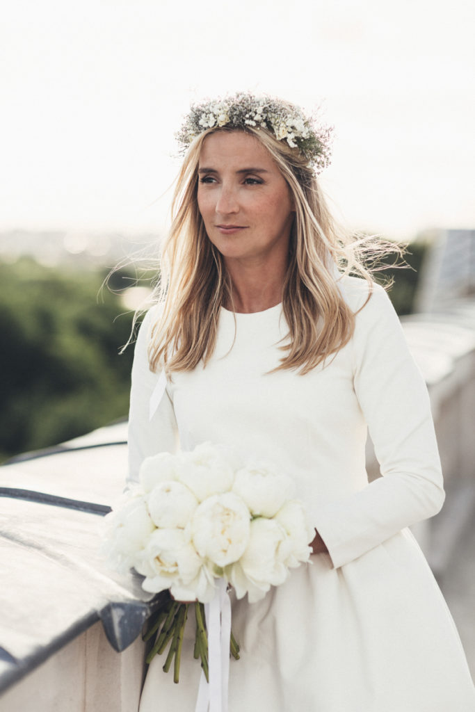 mariée fleurs paris