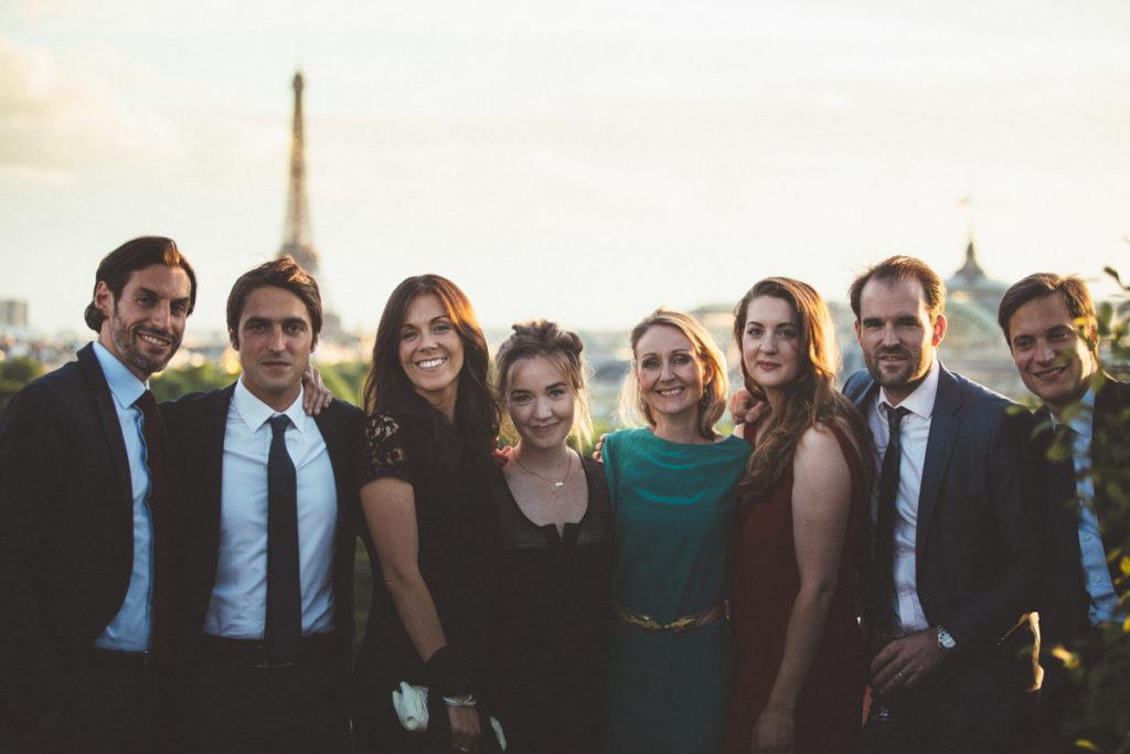 invités tour eiffel mariage paris