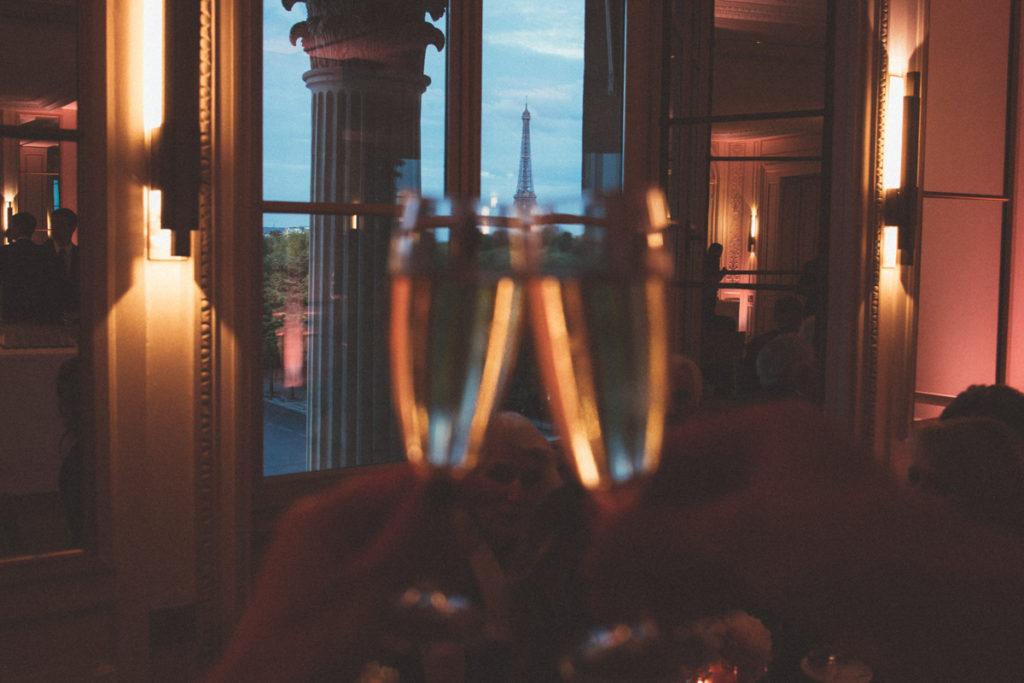 champagne mariage paris