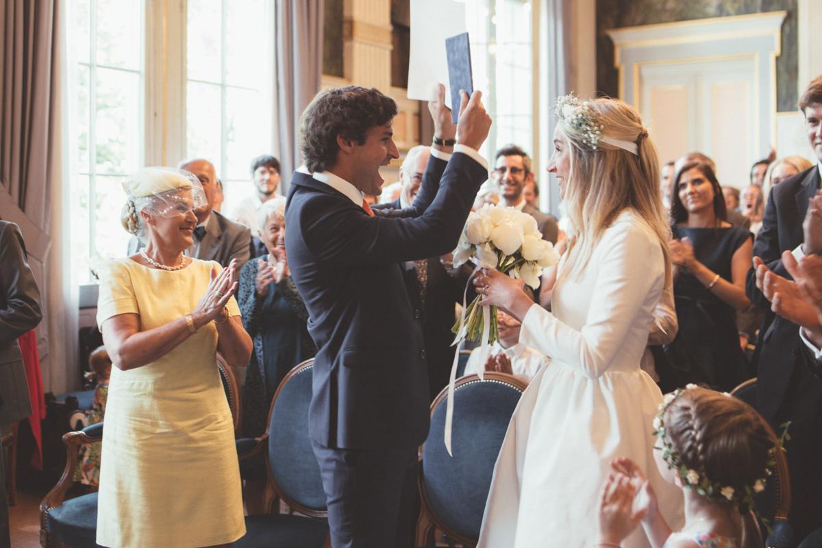 jeunes mariés parisien