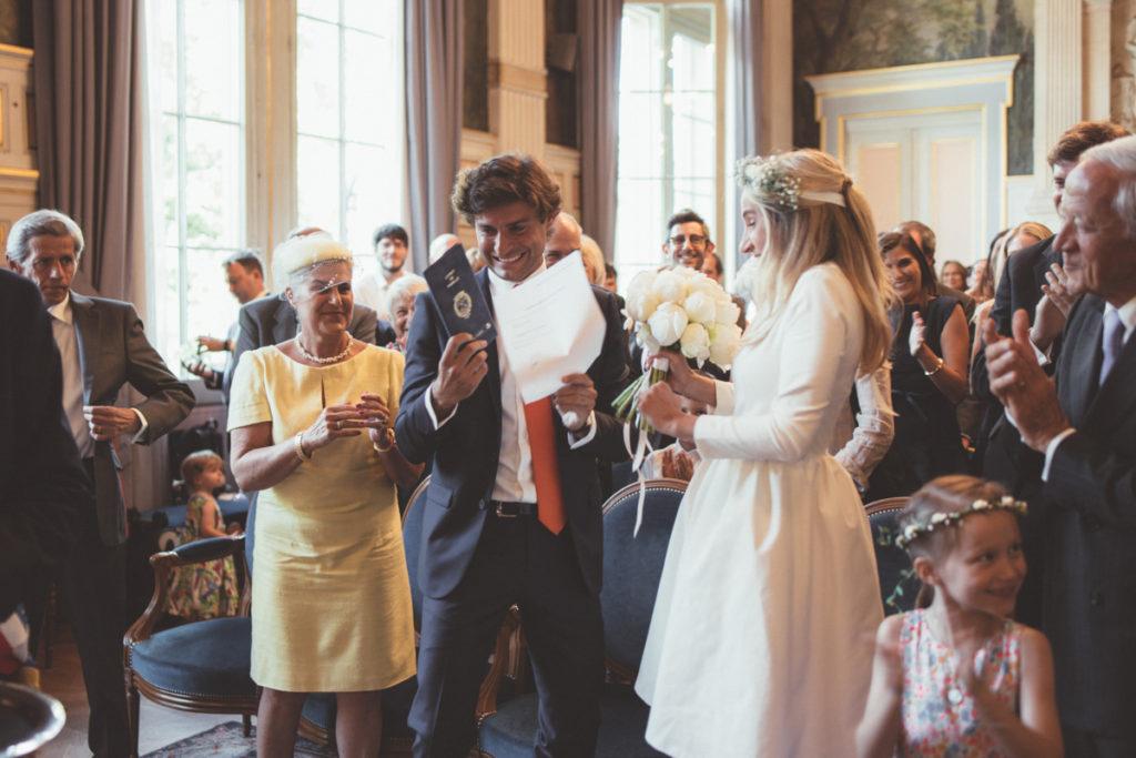 mariés parisiens