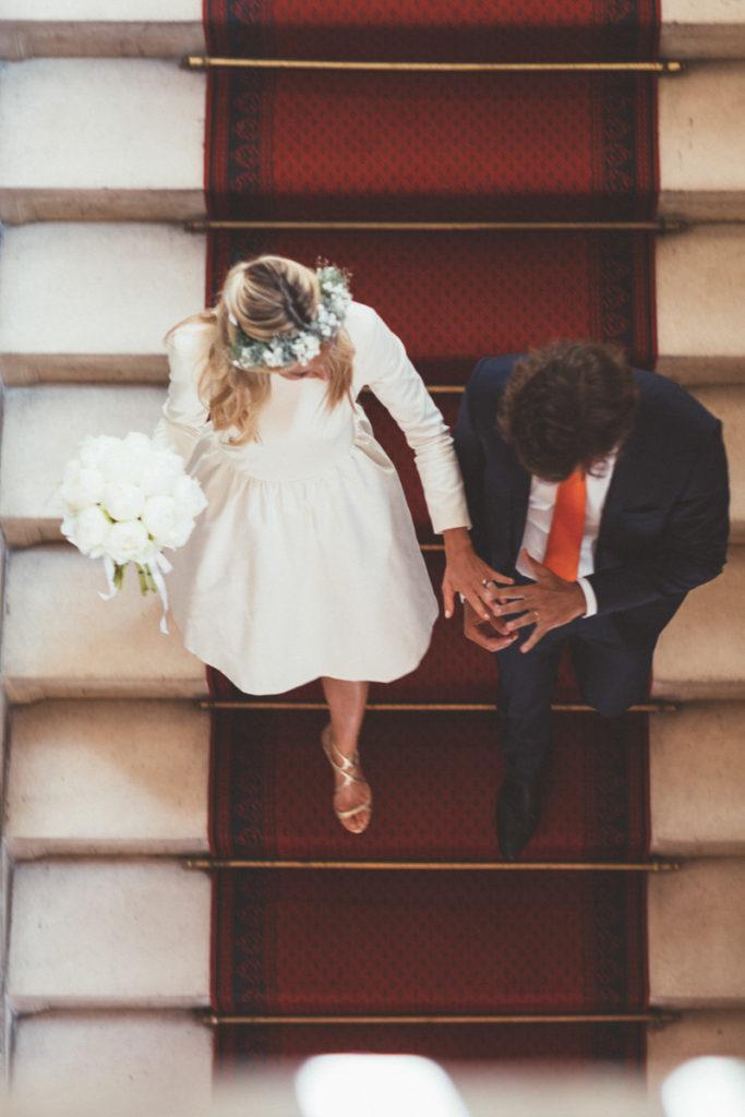escaliers mariage paris