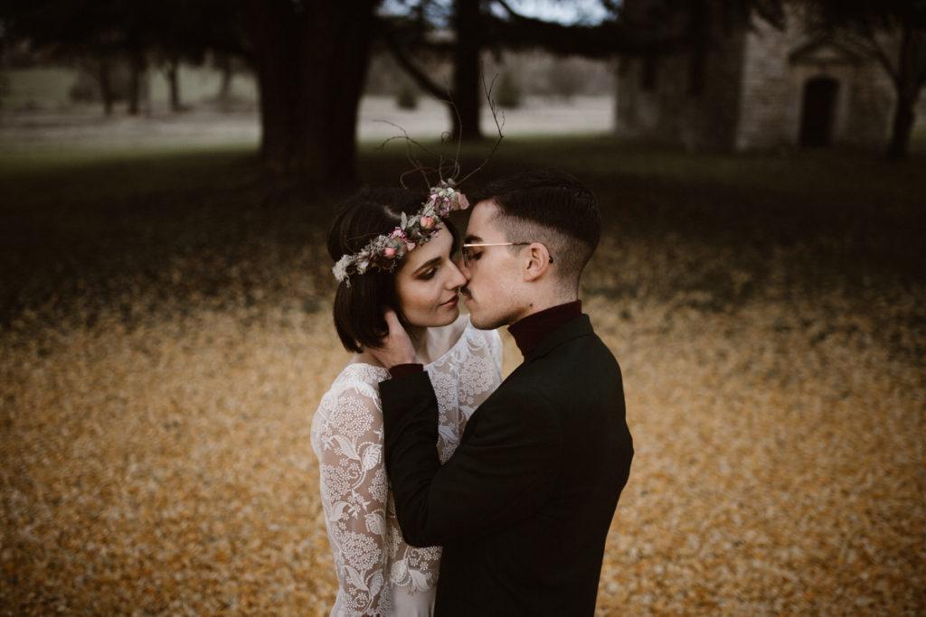 un mariage en hiver vidéo mariage
