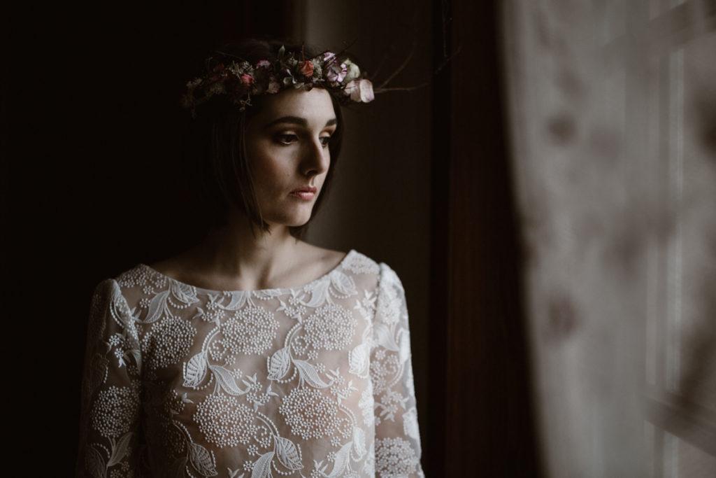 Photographe Mariage Chantilly mariée chateau chambly