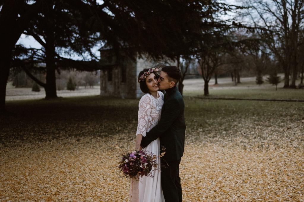 Un mariage en hiver au Château de Chambly