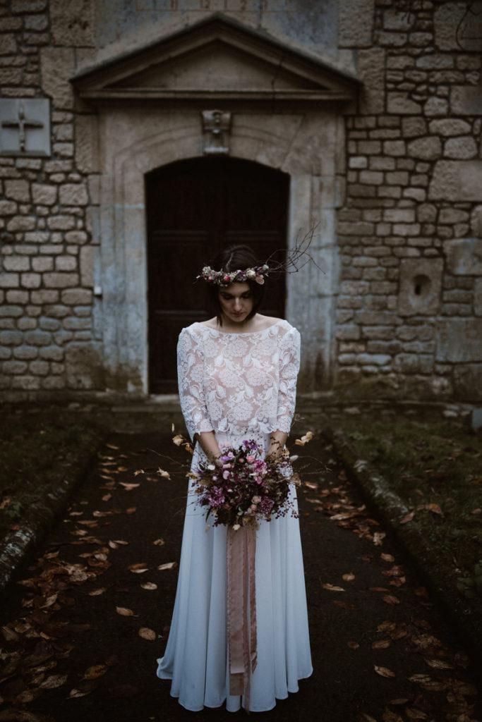 chateau de chambly mariée bouquetJoséphine Bono