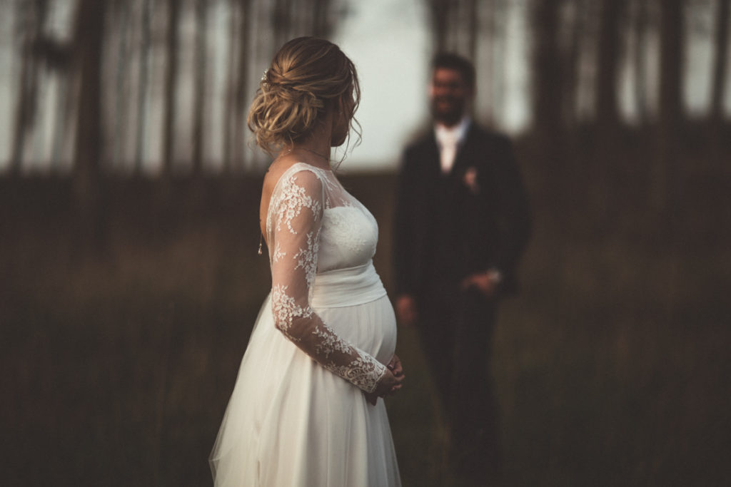 Photographe Mariage Gressy mariée enceinte
