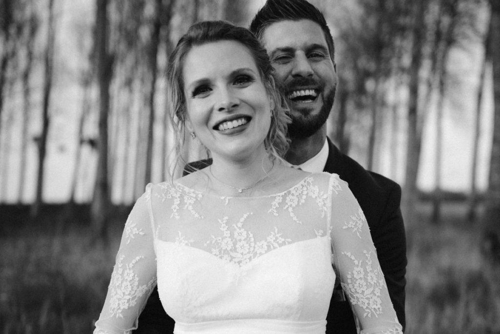 photos de mariage en seine et marne en noir et blanc