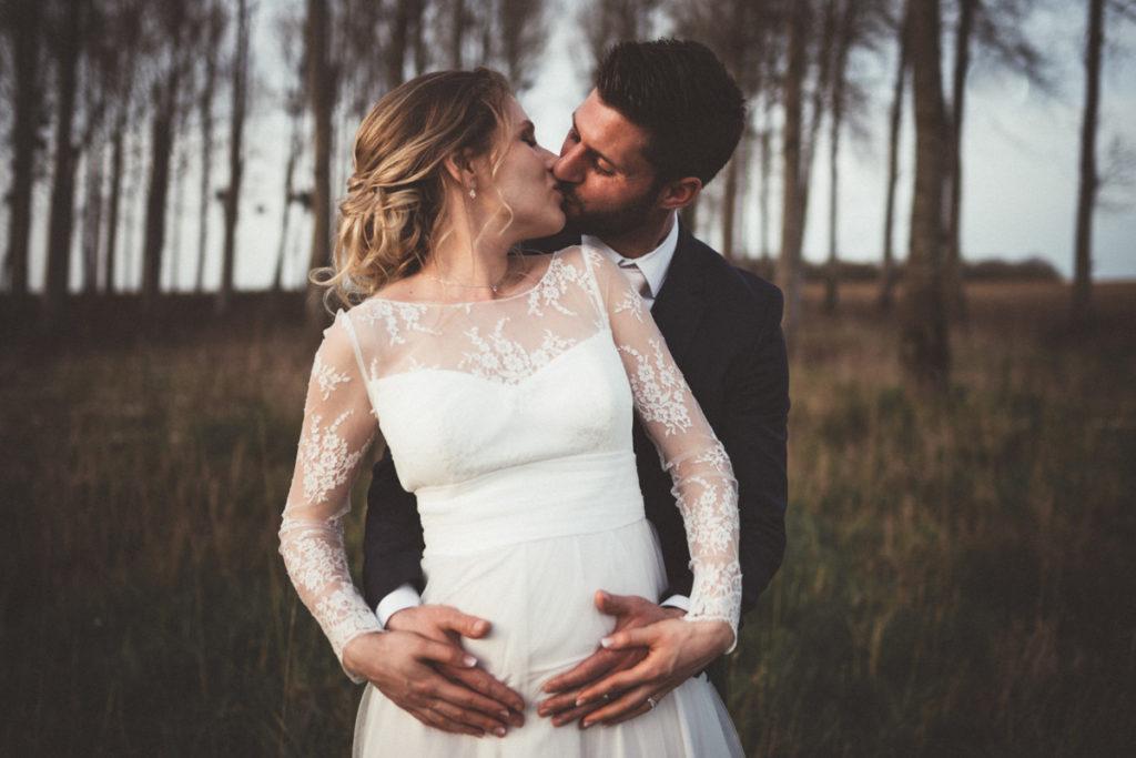 mariée enceinte photo de couple seine & marne