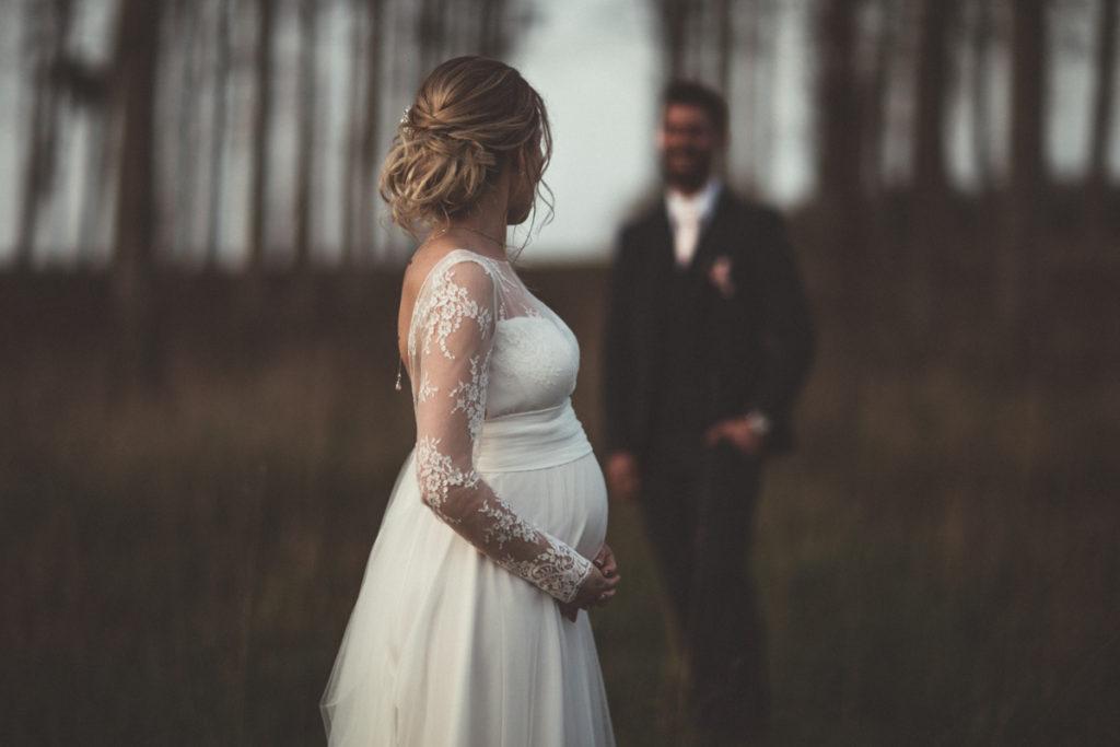 photo de mariée enceinte photo de couple en seine et marne