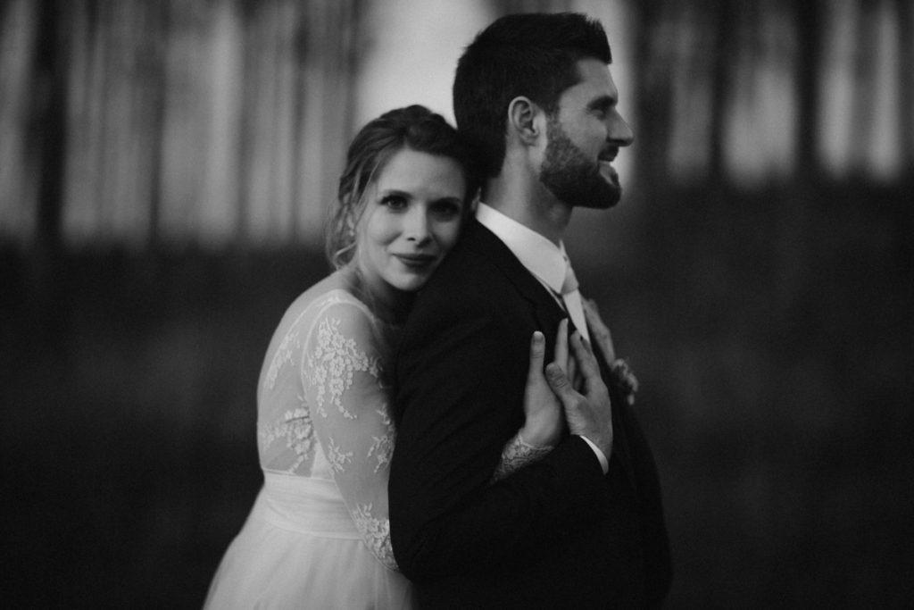 photographe de mariage en seine et marne photo noir et blanc