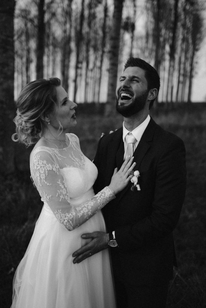 photographe mariage seine et marne photos de couple noir et blanc