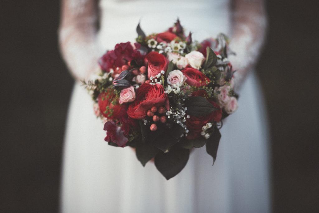 photo bouquet de mariage en seine et marne Ferté sous Jouarre