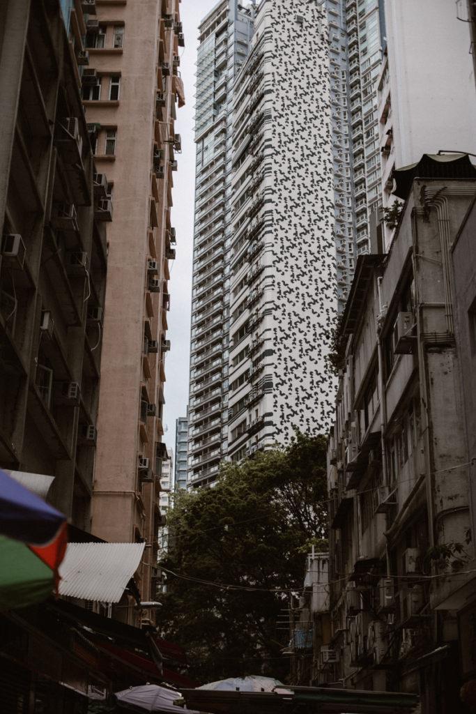 hong kong immeuble