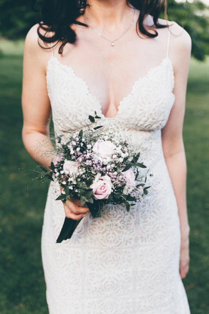 Photographe Mariage Giverny bouquet mariée dime giverny