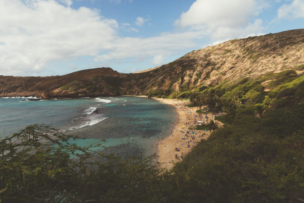 hanauma bay o'hau hawaii