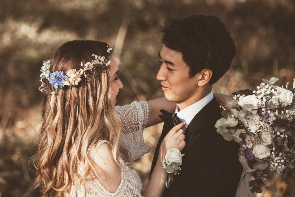 Photographe de Mariage dans l'Essonne mariage boheme