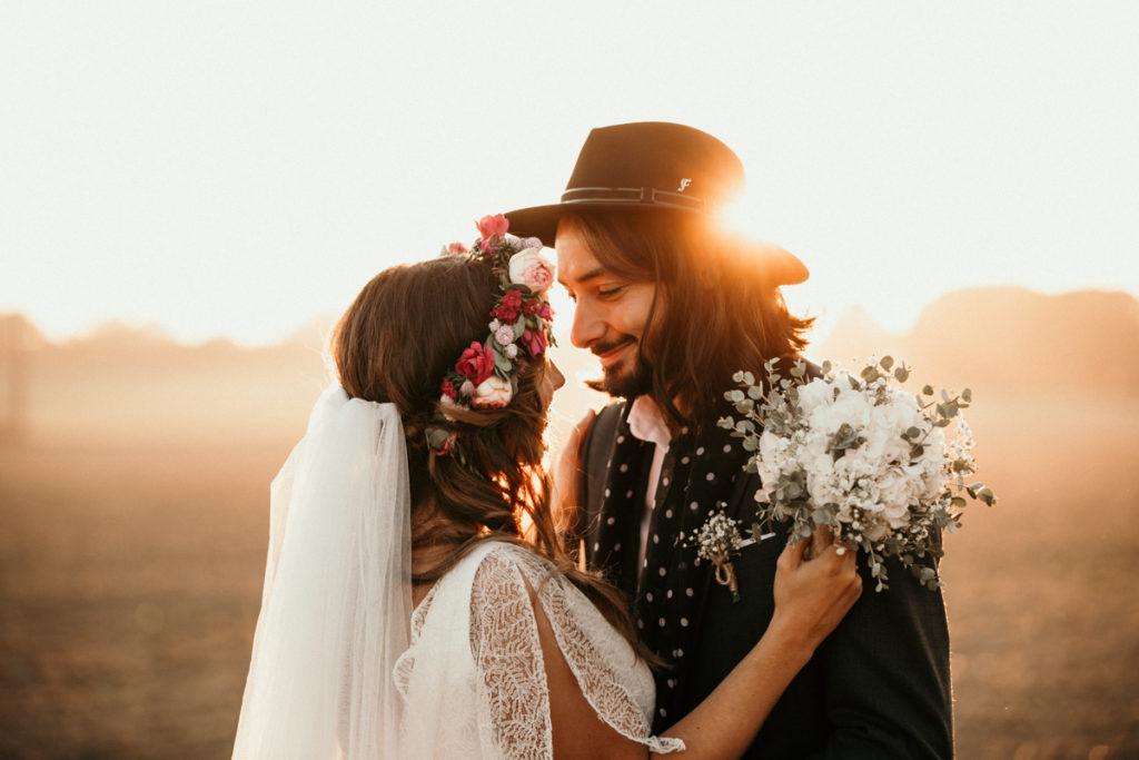 Domaine de Quicampoix photographe mariage photo couple