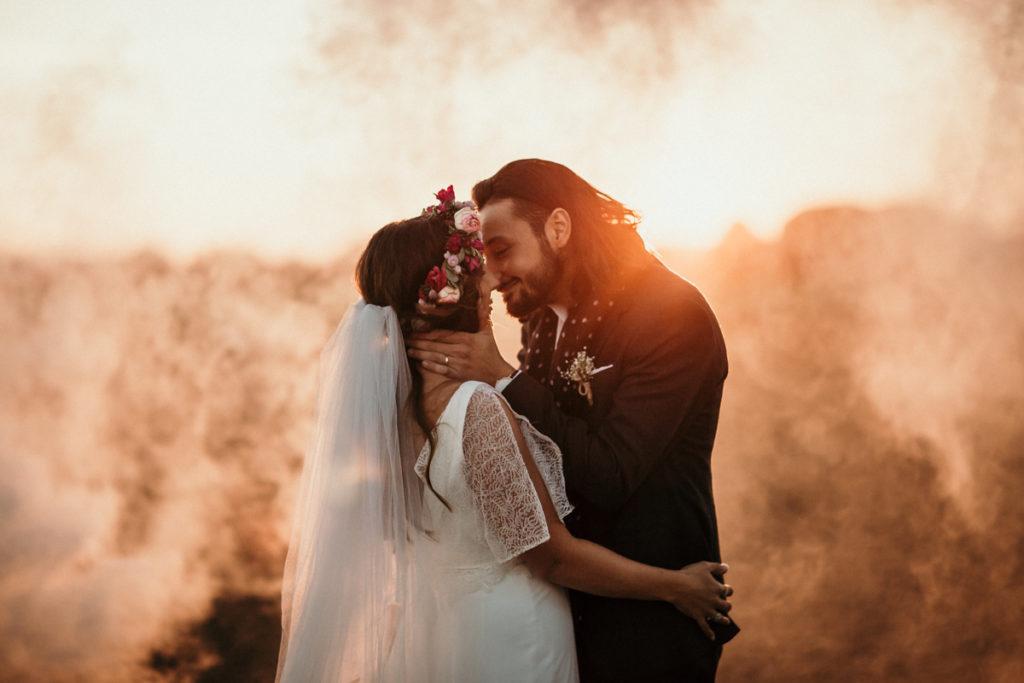 Photographe Mariage Mantes la Jolie - Les Bonnes Joies photo mariage Yvelines sunset