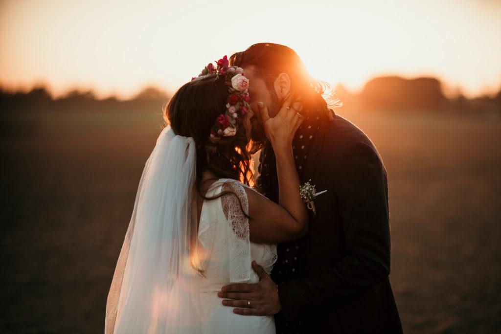 photo naturelle mariage ferme armenon soleil