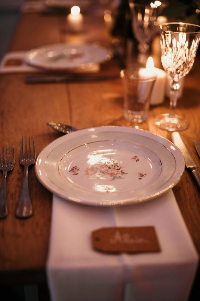 décoration table mariage ferme armenon
