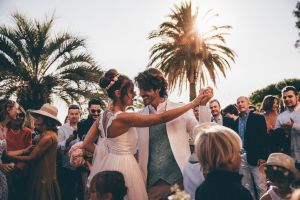 mariage à l'eglise du rayol