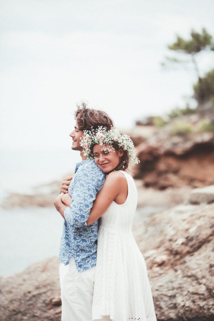 Tamron photo de couple plage