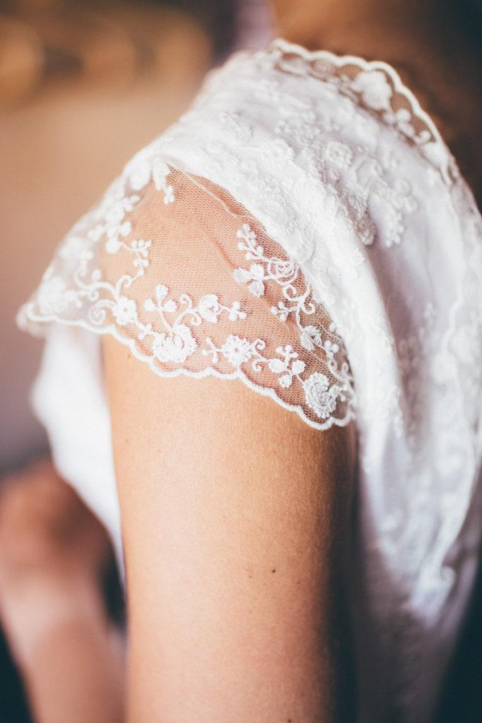 mariage robe détail tamron