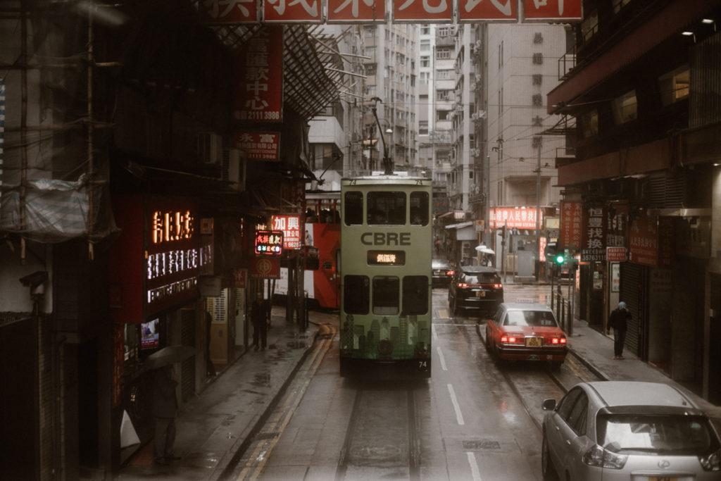 Visiter Hong Kongtramway