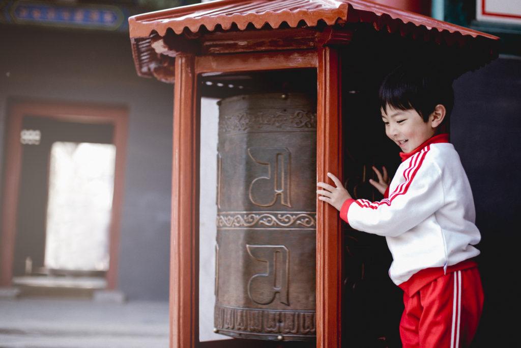 visiter pekin enfant temple du lama