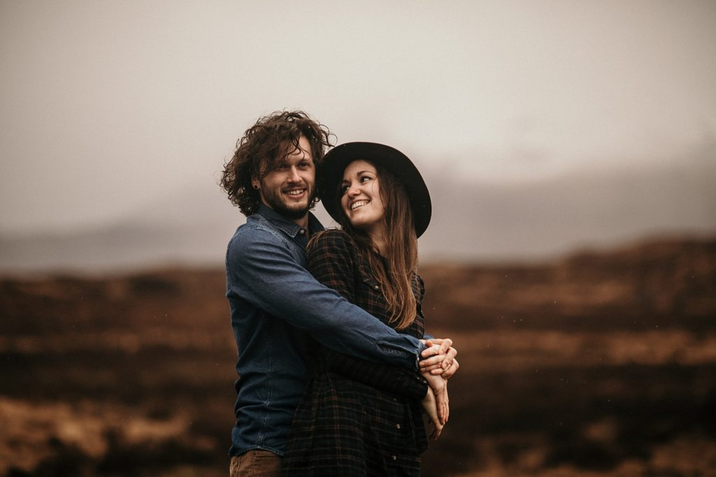 Séance couple en Ecosse love couple scotland